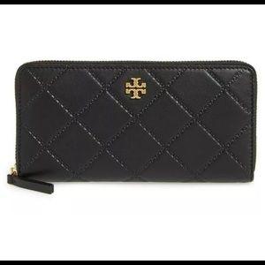 Tory Burch 187058 Womens Georgia Zip Leather